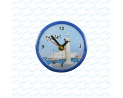 Clock Magnet Round Figure Local Themes
