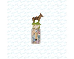 Mini Bottle Donkey Magnet