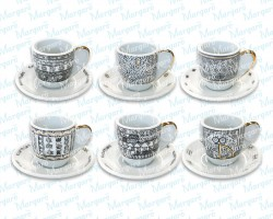 Cup and Saucer for Greek coffee